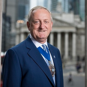 Alderman Peter Estlin (Lord Mayor at City of London)